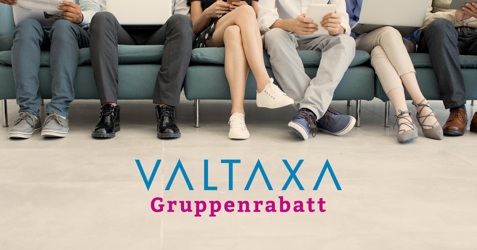VALTAXA-Gruppenrabatt